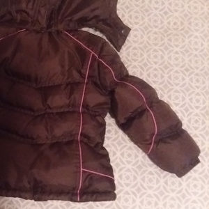 Weather Tamer Jackets & Coats - Hooded puffer jacket for girls, size 5-6